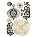 BasicGrey - Little Black Dress Collection - Layered Stickers