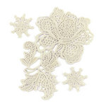 BasicGrey - Little Black Dress Collection - Lace Stickers