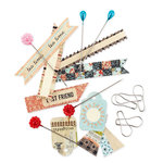 BasicGrey - Lucille Collection - Pins and Tags