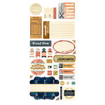 BasicGrey - Lucille Collection - Cardstock Stickers - Titles