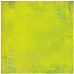 BasicGrey - Lemonade Collection - 12 x 12 Paper - Lime Cooler