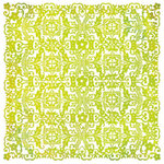 BasicGrey - Lemonade Collection - Doilies - 12 x 12 Die Cut Paper - Tablecloth - Green
