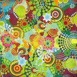 BasicGrey - Lime Rickey Collection - 12x12 Paper - Fruit Fizz
