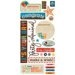 BasicGrey - Life of the Party Collection - Cardstock Stickers - Title