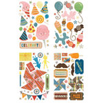 BasicGrey - Life of the Party Collection - Adhesive Chipboard - Shapes