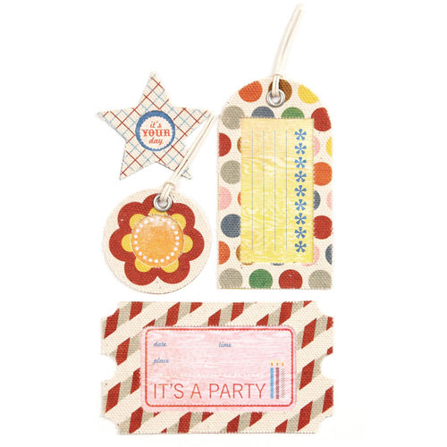 BasicGrey - Life of the Party Collection - Canvas Tags