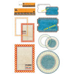 BasicGrey - Life of the Party Collection - Take Note Journaling Cards with Transparencies