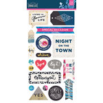 BasicGrey - Urban Luxe Collection - Cardstock Stickers - Elements