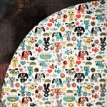 BasicGrey - Max and Whiskers Collection - 12 x 12 Double Sided Paper - Bubbles, CLEARANCE