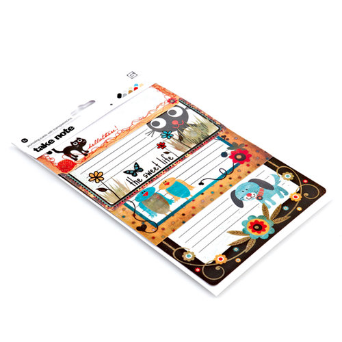 BasicGrey - Max and Whiskers Collection - Take Note Journaling Cards with Transparencies, CLEARANCE
