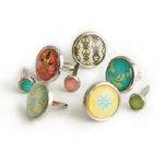 BasicGrey - Urban Prairie Collection - Glazed Brads