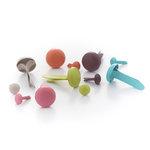 BasicGrey - Sweet Threads Collection - Brads
