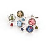 BasicGrey - Nordic Holiday Collection - Christmas - Glazed Brads