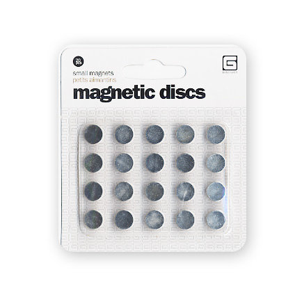 BasicGrey Magnetic Snaps - Closures - Round - Small