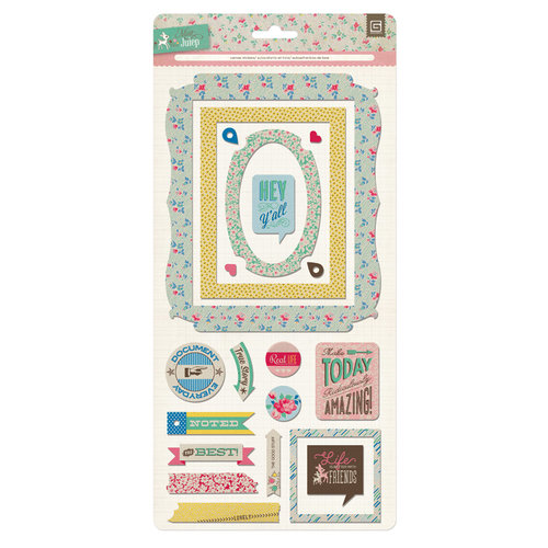 BasicGrey - Mint Julep Collection - Canvas Stickers