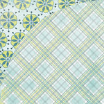 BasicGrey - Marjolaine Collection - 12 x 12 Double Sided Paper - Mint Fudge