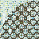 BasicGrey - Marjolaine Collection - 12 x 12 Double Sided Paper - Molten Cake