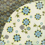BasicGrey - Marjolaine Collection - 12 x 12 Double Sided Paper - Creme Anglaise