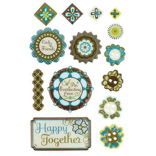 BasicGrey - Marjolaine Collection - Epoxy Stickers