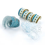 BasicGrey - Marjolaine Collection - Doilies - Self Adhesive Ribbon