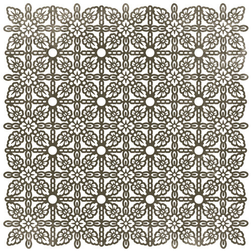 BasicGrey - Marjolaine Collection - Doilies - 12 x 12 Die Cut Paper - Lithe