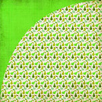 BasicGrey - Nook and Pantry Collection - 12 x 12 Double Sided Paper - Pear Tart, CLEARANCE