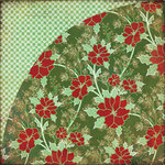 BasicGrey - Nordic Holiday Collection - Christmas - 12 x 12 Double Sided Paper - Powder