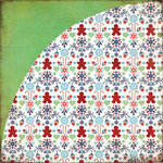 BasicGrey - Nordic Holiday Collection - Christmas - 12 x 12 Double Sided Paper - Yard Sale