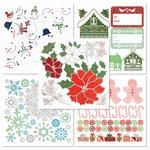 BasicGrey - Nordic Holiday Collection - Christmas - Rub On Book
