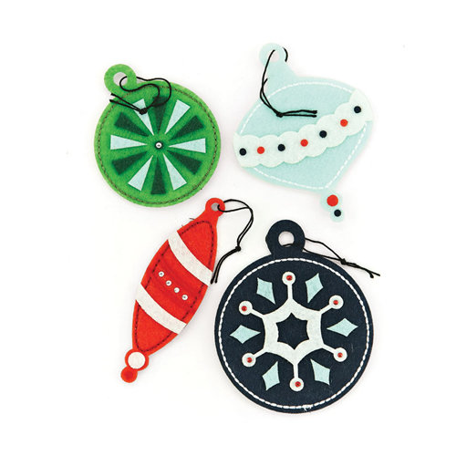 BasicGrey - Nordic Holiday Collection - Christmas - 3 Dimensional Felt Stickers