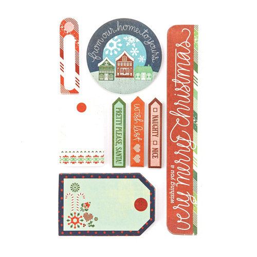 BasicGrey - Nordic Holiday Collection - Christmas - Writer's Block - Journaling Sets