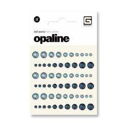 BasicGrey - Opaline Collecrtion - Pearls - Individual Half Pearls - Indigo and Sky
