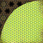 BasicGrey - Origins Collection - 12 x 12 Double Sided Paper - Cucumber, CLEARANCE