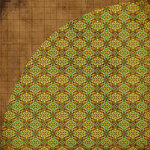 BasicGrey - Origins Collection - 12 x 12 Double Sided Paper - Henna, CLEARANCE
