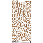 BasicGrey - Origins Collection - Mini Monogram Stickers, CLEARANCE