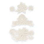 BasicGrey - Out of Print Collection - Embroidered Lace Stickers