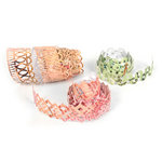 BasicGrey - Out of Print Collection - Doilies - Self Adhesive Ribbon