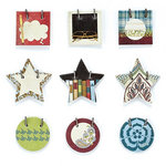 BasicGrey - Oxford Collection - Small Details - Decorative Stickers - Fasteners