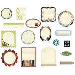 BasicGrey - Oxford Collection - Die Cut Cardstock Pieces