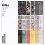BasicGrey - Black Tie Collection - 12 x 12 Vintage Paper Pack