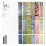 BasicGrey - Phresh and Phunky Collection - 12 x 12 Vintage Paper Pack
