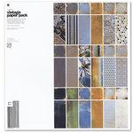 BasicGrey - Vagabond Collection - 12 x 12 Vintage Paper Pack