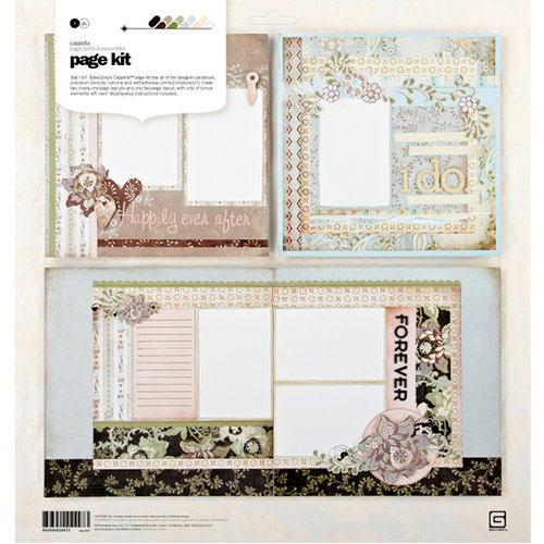 BasicGrey - Cappella Collection - Page Kit