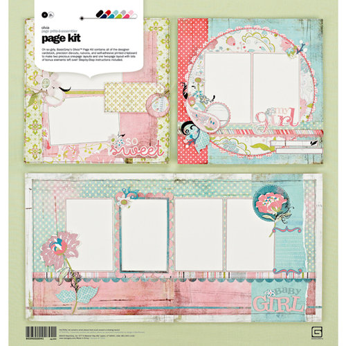 BasicGrey - Olivia Collection - Page Kit