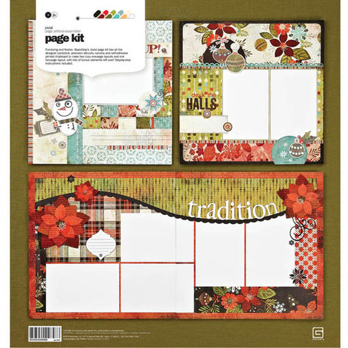 BasicGrey - Jovial Collection - Page Kit, CLEARANCE