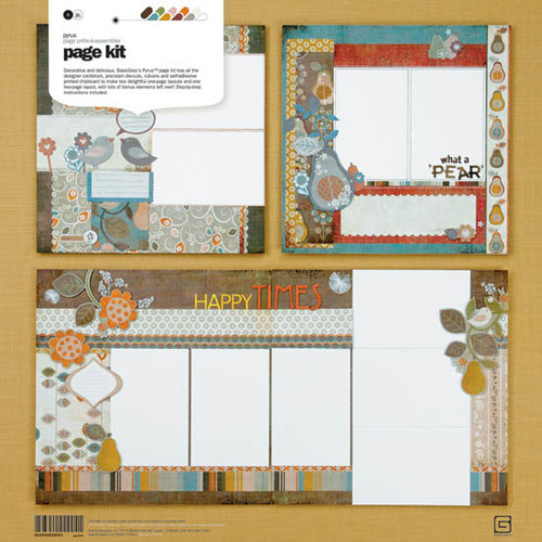 BasicGrey - Pyrus Collection - Page Kit