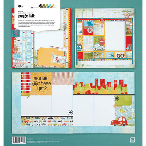 BasicGrey - Wander Collection - Page Kit