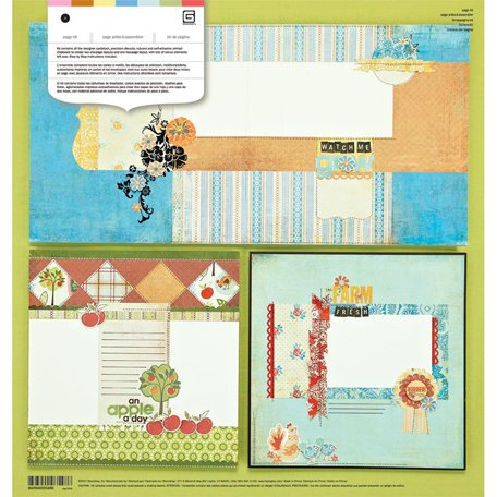 BasicGrey - Picadilly Collection - Page Kit