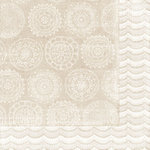 BasicGrey - Paper Cottage Collection - 12 x 12 Double Sided Paper - Table Linens