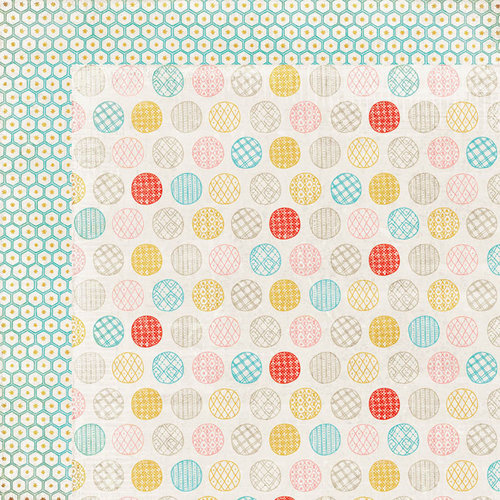 BasicGrey - Paper Cottage Collection - 12 x 12 Double Sided Paper - Afghan